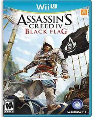 Assassins creed 4 iv black flag wii u nuevo y sellado juego