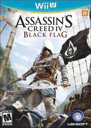 Assassins creed iv 4 black flag wii u nuevo