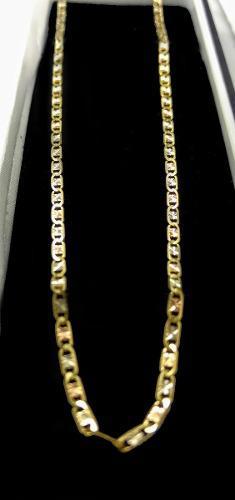 4c7b4e03a569 Cadena de oro tejido gucci 3 oros 10 kilates 55 cm jv0068 en México ...