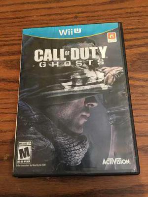 Call of duty: ghosts juego para wii u