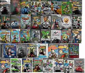 Colección juegos wii y playstation 2