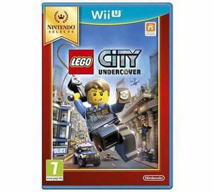 Lego city undercover nintendo wii u nuevo caja sellada!!!