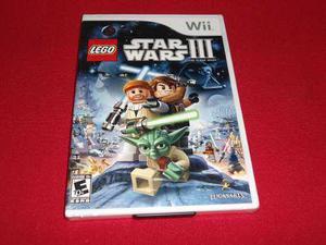Longaniza games * wii lego star wars 3********
