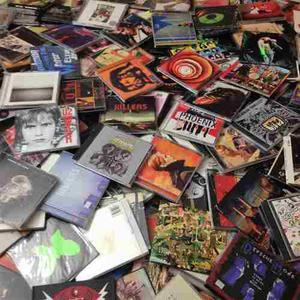 Lote cds rock nacional e internacional