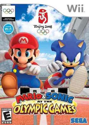 Mario amp; sonic en los juegos olímpicos por wii