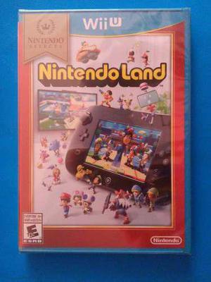 Nintendo land wii u nuevo sellado nintendoland trqs