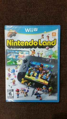 Nintendo land wii u nuevo, sellado y 100% original