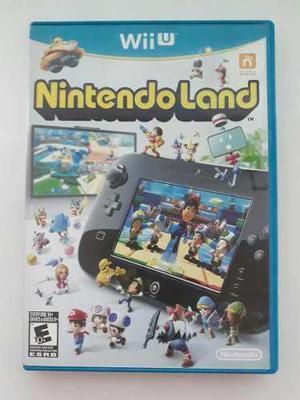 Nintendo land wii u videojuego cd