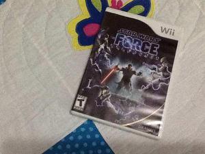 Nintendo wii video juego star wars force