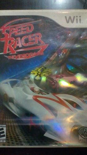 Speed racer wii muy buen estado con booklet
