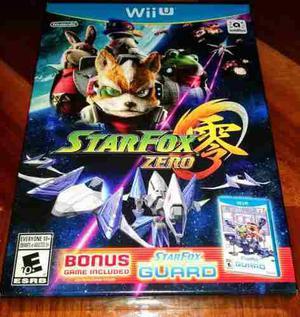 Star fox zero + star fox guard wii u - envio gratis!