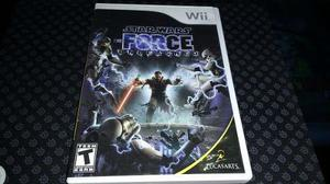 Star wars unleashed force wii completo sin rayones