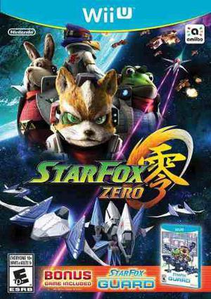 Videojuego star fox zero nintendo wii u gamer