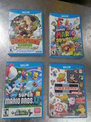 Wow Lote Juegos Wii U Remato Envio Gratis En Mexico Ofertas
