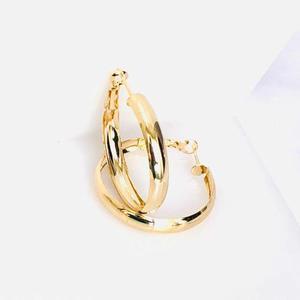 9efdaa085ebb Arracadas hermosas oro laminado 3.5 cms envio gratis