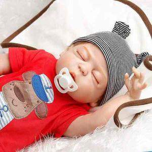 Bebe reborn muñeco silicon blanda 22 pulgadas msi