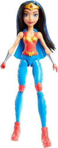 Dc super hero girls training action mujer maravilla doll