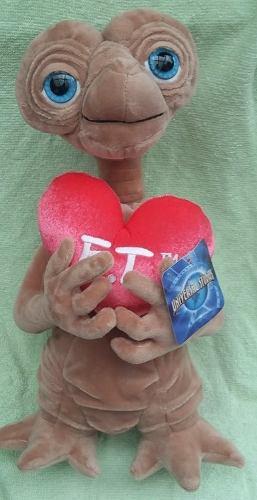 E.t. extraterrestre 37 cms peluche corazon universal studios