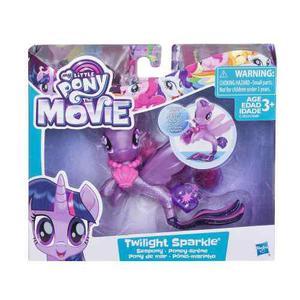 Figura básica ponysirena twilight sparkle my little pony