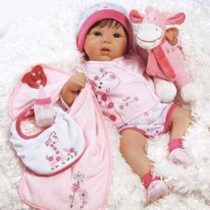 Muñeco bebe reborn paradise galleries con accesorios msi
