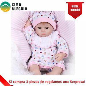 Reborn muneco bebe de silicona envio gratis