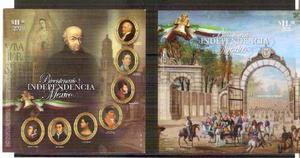 2010 bicentenario independencia de méxico 11 sellos serie