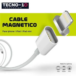Cable cargador magnetico para iphone apple lightning usb