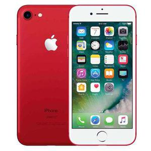Celulares apple iphone 7 128 gb - red rojo original a meses!