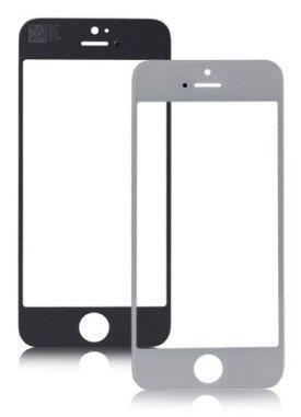 Cristal original iphone 5 5c 5s 6s 6 plus blanco negro glass