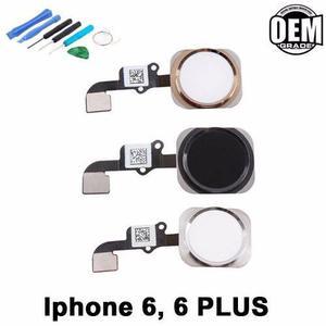 dfebcaa4967 Flex boton home inicio iphone 6 6 plus negro plata oro nuevo