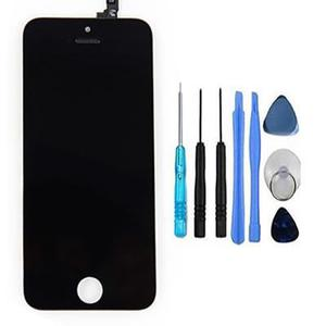 Pantalla display iphone 5s touch + mica + herrramienta envio