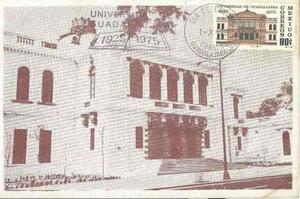 Tpm20-3 tarjetas postales máximas de méxico escuelas-