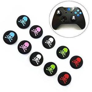 4 gomas grips protector joystick xbox one ps4 ps3 calavera