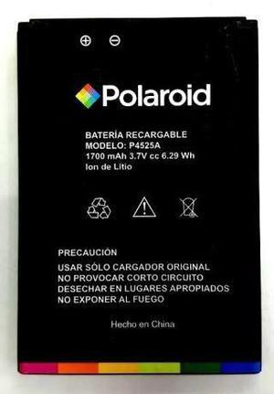 Bateria pila polaroid turbo c4 plus p4525a + envio gratis