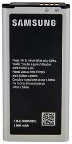 Bateria pila samsung galaxy s5 mini g800 2100mah eb-bg800bbe