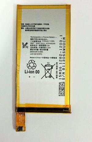 Bateria pila sony c4 e5303 e5306