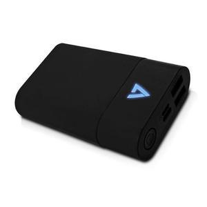 Bateria portatil power bank v7 10050mah 2 usb + 1 usbc quick