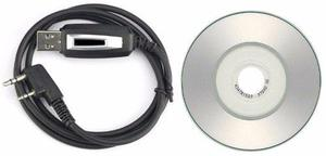 Cable usb programar radios baofeng uv5r 888s uv82 programas