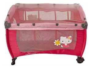 4270988cc Cuna corral de bebe hello kitty 2 en 1 mosquitero