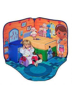 Espacio de juego pop up 3d consultorio disney dra juguetes