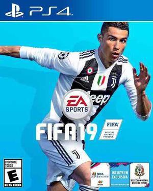 Fifa 19 ps4 juego fisico nuevo en d3 gamers