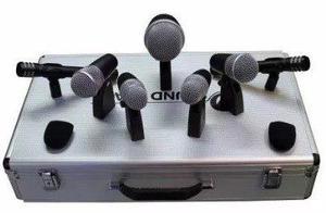 Kit de micrófonos para bateria 7 micros drm7