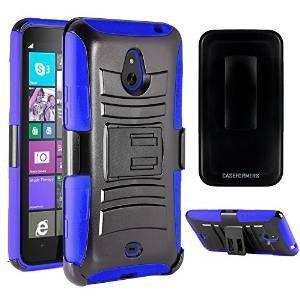 Nokia lumia 1320 case, caseformers duo armor azul para nokia
