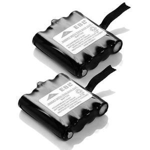 Pack 2 baterías radio midland batt6r batt-6r, envío gratis