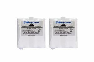 Paquete de baterías recargables nimh midland avp8 batt6r