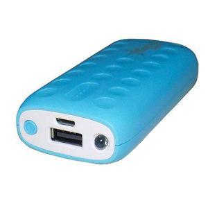 Pila bateria externa respaldo powerbank 6000mah led celular