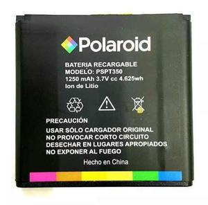 Pila bateria polaroid pspt350 1250 mah 3.7v 4.625wh e/g