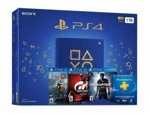 Playstation 4 slim days of play ps4 1tb bundle hits 3 juegos