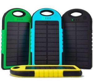 Power bank recargable solar 5000mah envio gratis