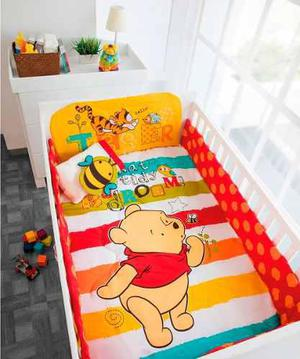 Set de edredon para cama cuna corral pooh baby chiquimundo